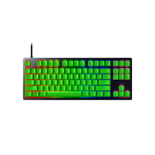 Razer Huntsman Tournament Edition Green Keycaps Mechanical Gaming Keyboard